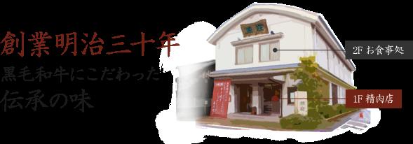 京都木津川 黒毛和牛専門店 1F精肉 2Fお食事処